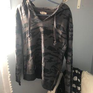 Light weight camo hoodie